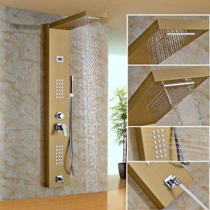 Guide d'achat des panneaux de douche