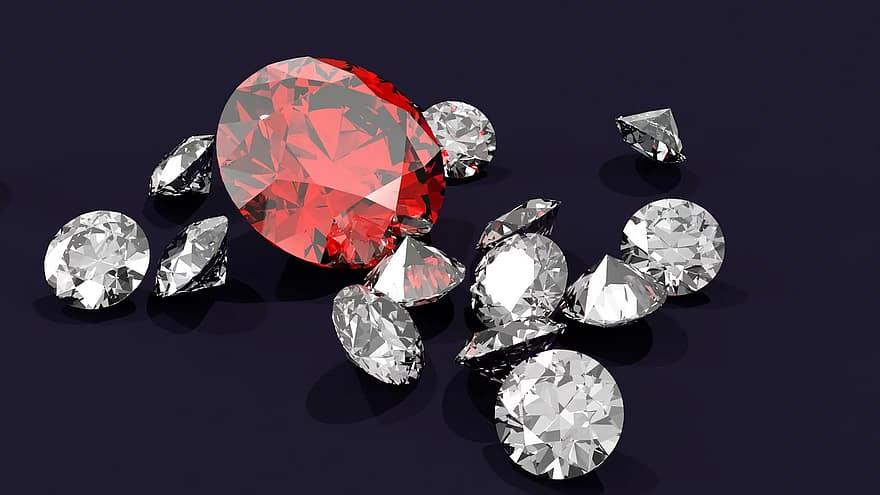 Pourquoi se tourner vers le diamant pour orner les bijoux ?